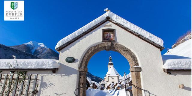 Ramsauer Kirche im Winter - Foto: Marika Hildebrandt