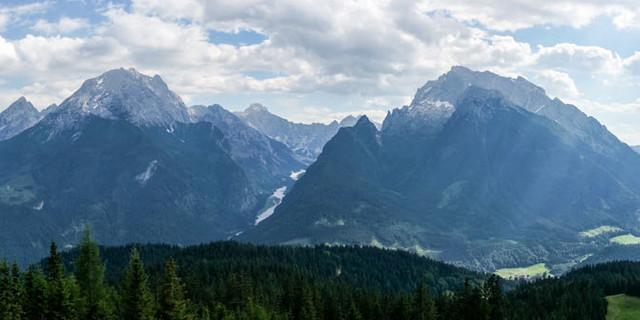 Nationalpark mit Watzmann, Wimbachgries und Hochkalter - Foto: DAV/Tobias Hipp