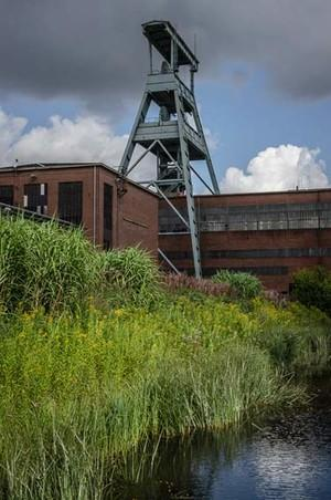 Ruhrgebiet-Zeche-Ewald-Foerderturm