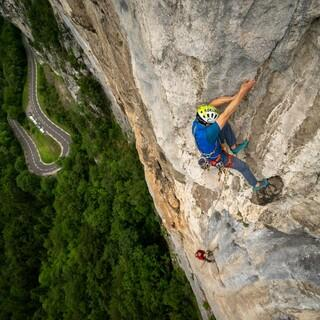 u.a. ist ein hohes persönliches Kletterkönnen Voraussetzung. Foto: DAV / Silvan Metz