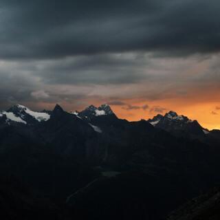Das Bergwetter wird kommendes Wochenende leider ziemlich durchwachsen. Foto: DAV / Pröttel