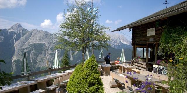 Die Brunnsteinhütte im Karwendel, Foto: DAV/Hans-Peter Gallenberger