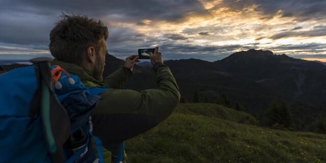 Schnell noch ein Foto mit dem Smartphone und zack, der Akku ist leer. Foto: Wolfgang Ehn