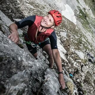 Klettern ist ein Sport für jedes Alter. Foto: DAV/Christian Pfanzelt