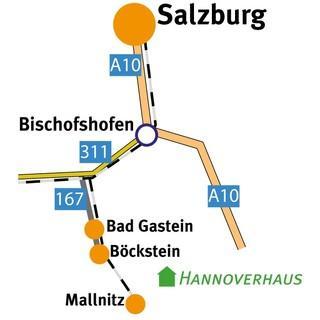 Anreise-Skizze, Abbildung: DAV/Sektion Hannover