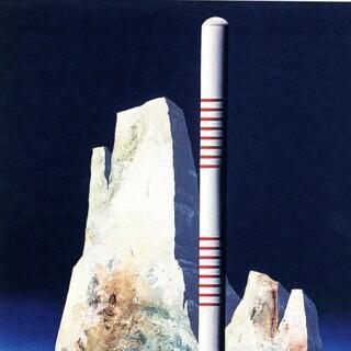 Die Eroberung, 1976. Acryl auf Nessel. Rolf Liese