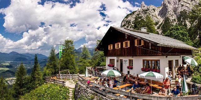Mittenwalder Hütte, Foto: Martin Kriner