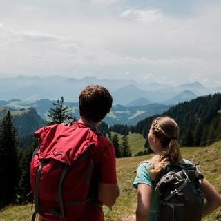 Am Horizont der Bergsommer. Foto: DAV/Hans Herbig