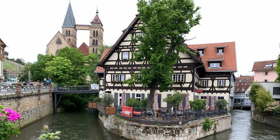 Ein optimaler und reizvoller Startpunkt: Esslingen, Foto: Joachim Chwaszcza