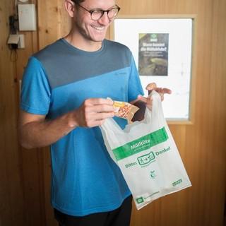 Nimm deinen Müll wieder mit ins Tal. Photo: DAV/ Jens Klatt