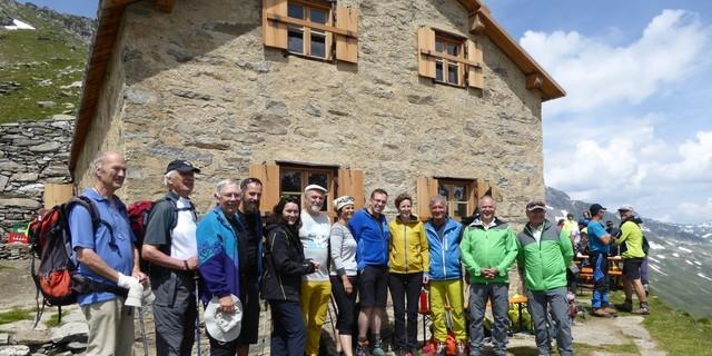 Beteiligte der Restaurierung der Alten Prager Hütte, Foto: Florian Jurgeit