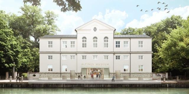 So könnte das Alpine Museum schon bald aussehen. Entwurf: Michael Feil Architekten BDA