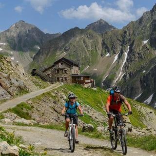 Mountainbiking in the Bavarian Alps, Copyright: Wolfgang Ehn