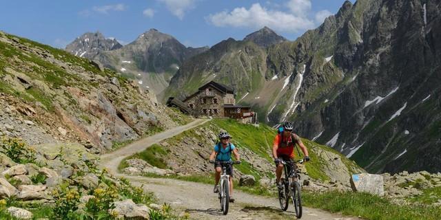 Mountainbiken, Foto: DAV/Wolfgang Ehn