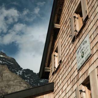 Geraer Hütte, Bildrechte: DAV/Marcel Dambon