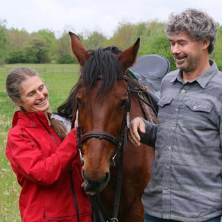 Barbara und Christoph Promberger setzen sich in den Südkarpaten für einen der größten Nationalparks Europas ein. Foto: Win Schumacher, weltwege.de