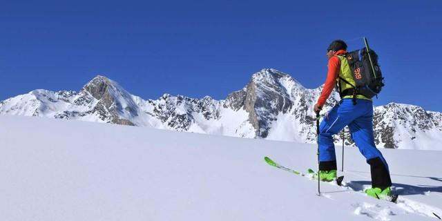 Durch die Texelgruppe - Faszination Skitourengehen: Die Texelgruppe bietet ein letztes stilles Highlight. Foto: Stefan Herbke