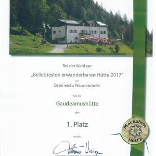 Begehrte Urkunde, Foto: Sektion Main-Spessart