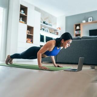 Digitales Workout, Foto: Getty Image/filadendron