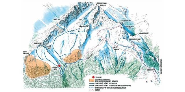 Natürlich auf Tour: An der Alpspitze