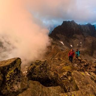 Nicht zu unterschätzen: Gewitter in den Bergen, Foto: DAV/Wolfgang Ehn