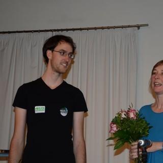 Paul Finger und Friederike Kaiser