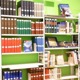 Die Bibliothek im Haus des Alpinismus, Foto: DAV/Alpines Museum