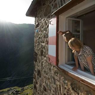 Auch die Nürnberger Hütte ist mit dem Umweltgütesiegel ausgezeichnet, Foto: Thilo Brunner
