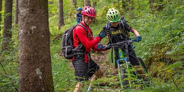 Mountainbikekurs für Kids, Foto: JDAV/Silvan Metz