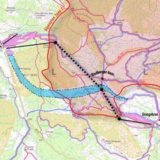 Der geplante Zusammenschluss von Balderschwang westlich und Grasgehren östlich des Riedberger Horns (DAV/T.Hipp)