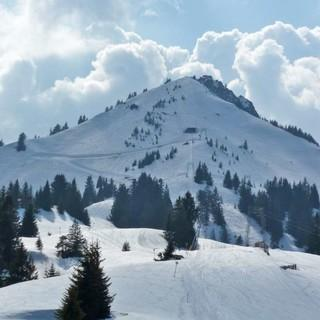 Skigebiet am Grünten: bald bis zur Mittelstation künstlich beschneit? Foto: Manfred Scheuermann