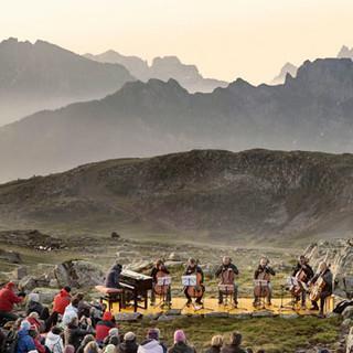 Bahn und Berge Trentino
