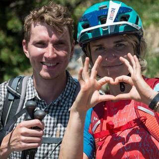 Mit Verständnis füreinander klappt's auch miteinander. Foto: DAV/Chris Pfanzelt