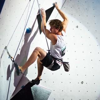 Moritz Hans zog auf Platz 8 ins Finale ein. Fotos: DAV/Vertical-Axis