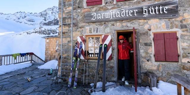 Darmstädter Hütte, Foto: Wolfgang Ehn