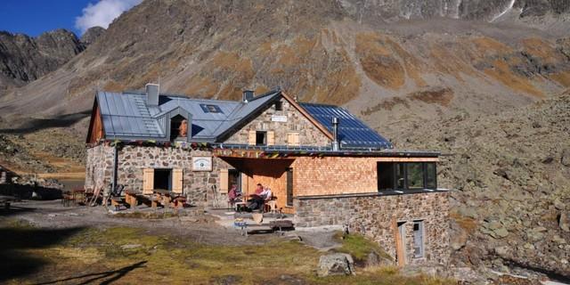 Winnebachseehütte - 2016 wurde das Umweltgütesiegel verliehen! Photo&#x3B; DAV Archiv