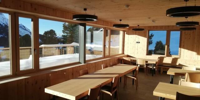 Zum Wohlfühlen - Viel Platz in den neuen Gasträumen und Seminarraum. Foto: Monika Tabernig