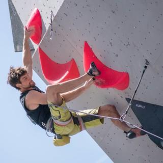 Jan Hojer holte letztes Jahr in Villars Platz 4, Foto: IFSC/Eddie Fowke
