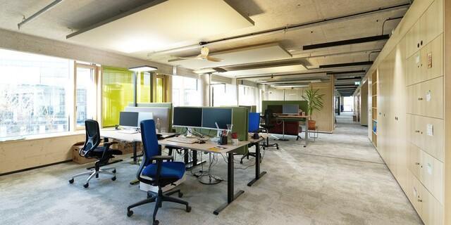 Offene Räume fördern Kommunikation und Vernetzung. Foto: ELEMENT A Architekten.