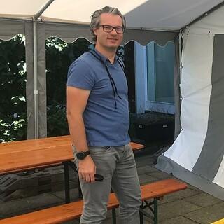 Dankesrede beim Richtfest von Daniel Sautter, Geschäftsführer JDAV, Foto: Jubi/Jubi Archiv