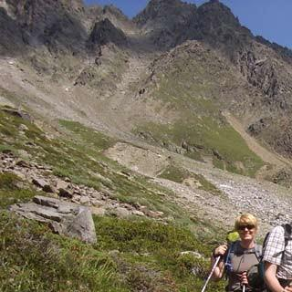 Verpeiljoch - Über das Verpeiljoch geht es von der Verpeilhütte zurück ins Pitztal – Ende eines langen Weges.