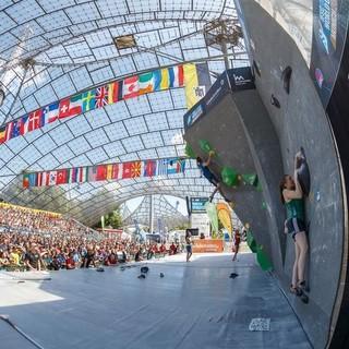 Boulderweltcup 2016 Foto: DAV/Marco Kost