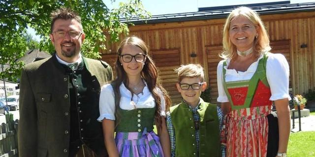 Familie Zehner, Foto: DAV