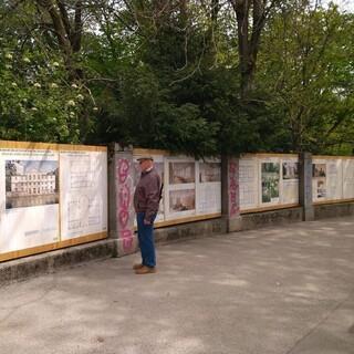 Bauzaunausstellung, Aufnahme: Friederike Kaiser/DAV