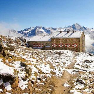Auch die Breslauer Hütte in den Ötztaler Alpen steht zur Wahl , Foto: DAV/Anton Klocker