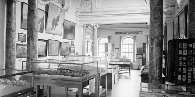 Blick in den Kuppelsaal. Foto um 1925. Foto: Archiv des DAV, München