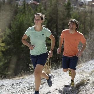 Trailrunning - im Laufschritt auf den Berg. Bildrechte: DAV/Wolfgang Ehn
