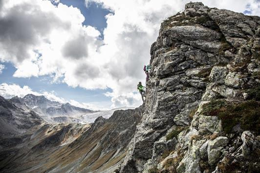 Vaude Klettersteig : Vaude klettersteig gargellner köpfe Österreichs wanderdörfer