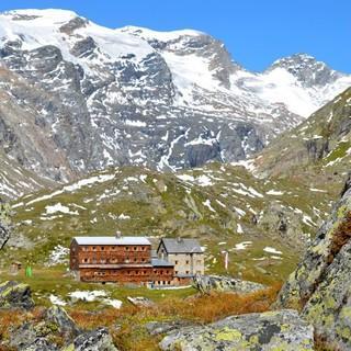 Die Essener-Rostocker Hütte in der Venediger-Gruppe, Bildrechte: DAV/Frank Harting