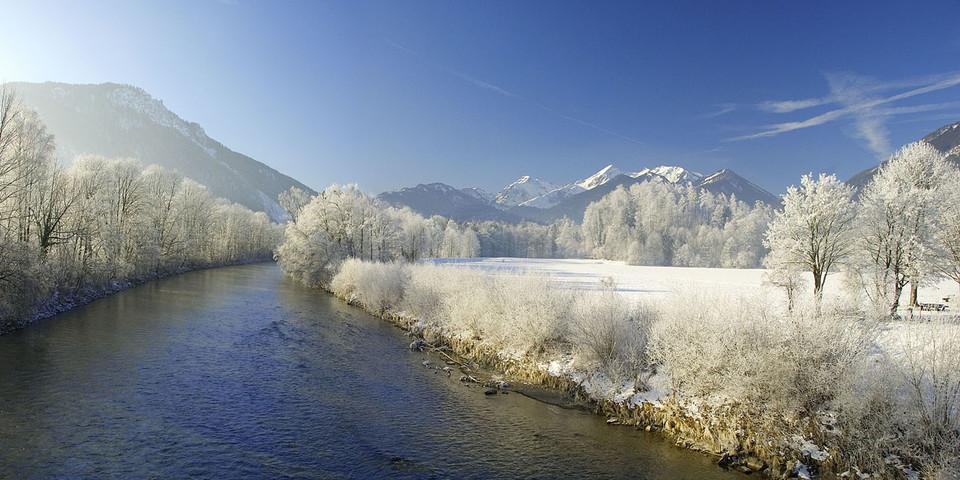 Das Achental im Winter. Foto: Fotografie-Vordermeier.de